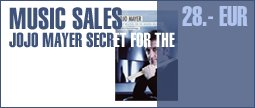 Music Sales Jojo Mayer Secret Weapons D