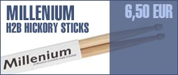 Millenium H2B Hickory Sticks -Wood-