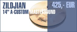 "Zildjian 14"" A-Custom Mastersound"