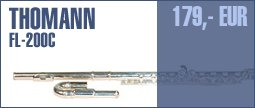 Thomann FL-200C Flute