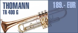Thomann TR 400 G Bb-Trumpet