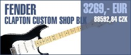 Fender Clapton Custom Shop BLK