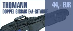 Thomann E-&A-Guitar Double Gigbag