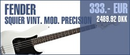 Fender Squier Vint. Mod. Precision OW