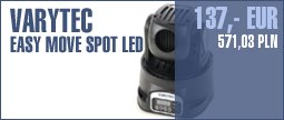 Varytec Easy Move Spot LED Moving Head