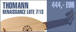 Thomann Renaissance Arch-Lute 7/13