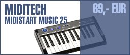 Miditech Midistart Music 25