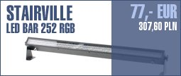 Stairville LED Bar 252 DMX RGB