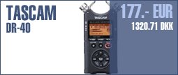 Tascam DR-40