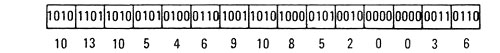 binary information