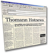 Thomann Hotnews Newsletter