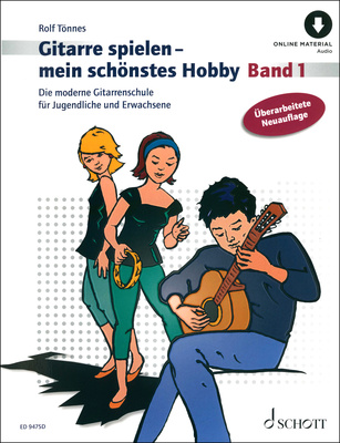 Schott Gitarre spielen mein Buch & CD