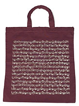 Vienna World Cotton Bag Bordeaux