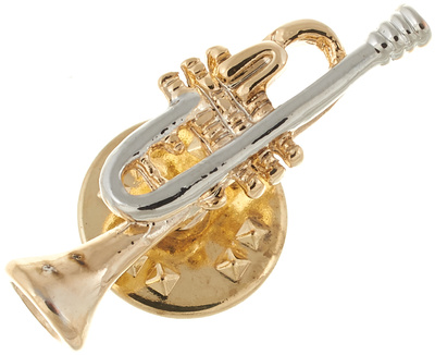 Art of Music Pin Trumpet