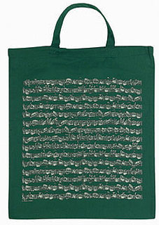 Vienna World Cotton Bag Green