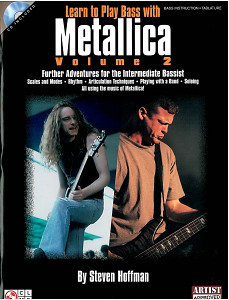 Hal Leonard Learn to play Bass with Metall