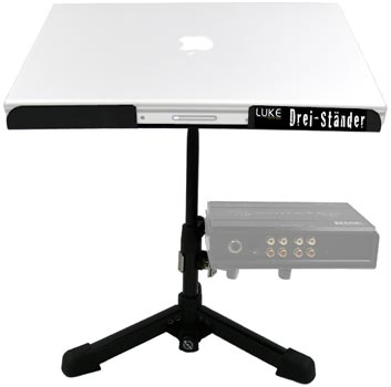Luke Laptop Stand Black
