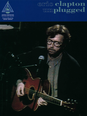 Music Sales Eric Clapton Unplugged Git.