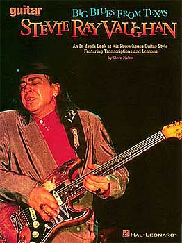 Hal Leonard S.R. Vaughan Big Blues From Te