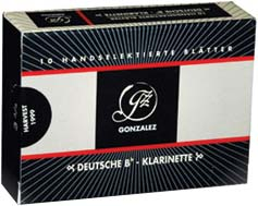 Gonzalez Clarinet 2,5 Reed German