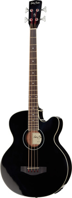 Harley Benton B-30 BK Acoustic Bass Series