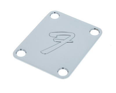"Fender Neck Plate 4 (big ""F"")"