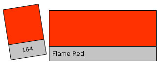 Lee Colour Filter 164 Flame Red
