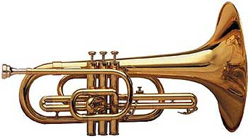 Blessing BM-100 Marching Mellophone