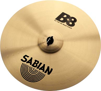 "Sabian 18"" B8 Rock Crash"