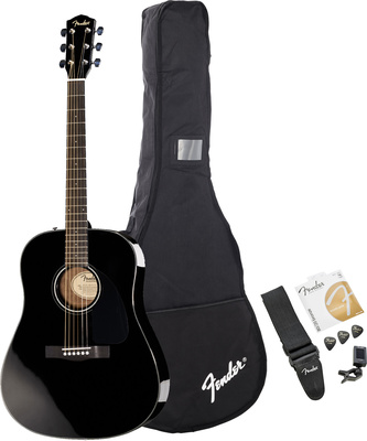 Fender Acoustic Pack CD-60 BK