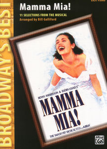 Alfred Music Publishing Mamma Mia (easy Piano)