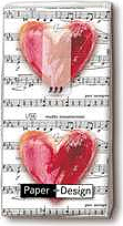"Musikboutique Hahn Handkerchiefs ""Love Music"""