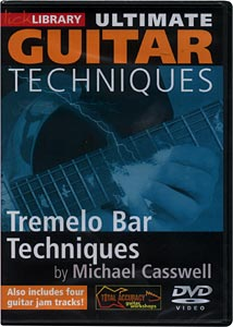 Music Sales Tremolo Bar Techniques (DVD)