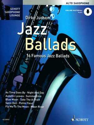 Schott Jazz Ballads f. Alto Saxophone