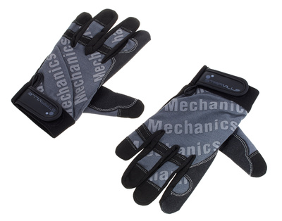 Stairville Mechanic Gloves Grey/Black L
