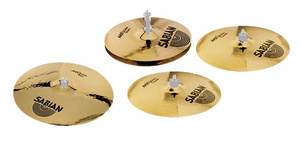 Sabian AAX Recording Cymbal Set