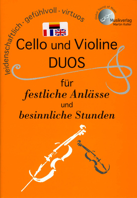 Musikverlag Keller Cello und Violine Duos