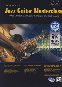 Alfred Music Publishing Jazz-Guitar Masterclass