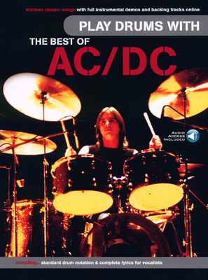 Wise Publications Best of Acdc For Drums