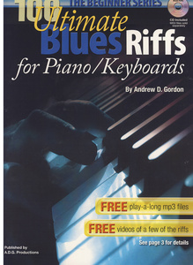 Music Sales 100 Ultimate Blues Riffs f.Key