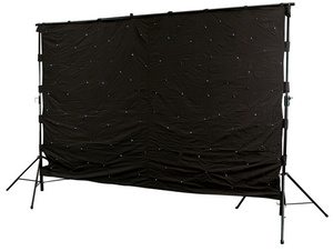 Varytec LED Backtruss Curtain 3x6 WH