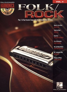 Hal Leonard Play-Along Folk/Rock Harmonica