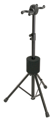 K&M 17620 Double Guitar Stand BK