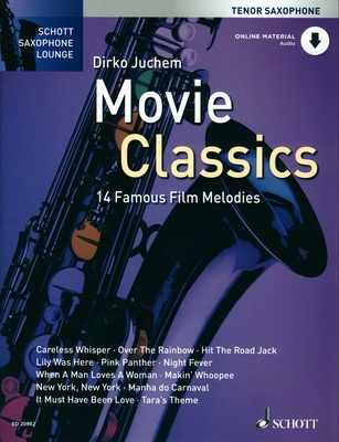 Schott Movie Classics T-Sax