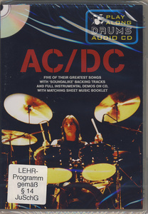 Music Sales Play-Along Drums AC/DC