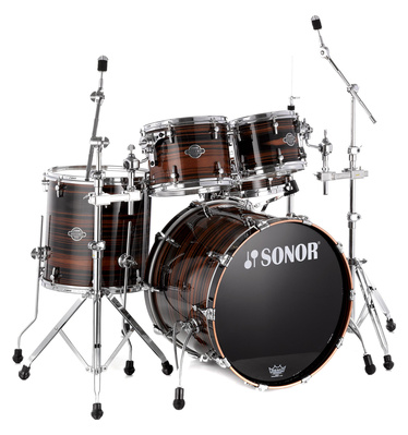 Sonor Ascent Ebony Stripes Studio
