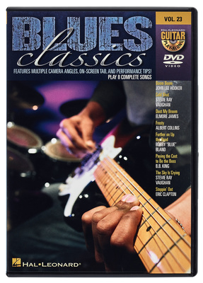 Hal Leonard Blues Classics Play Along DVD