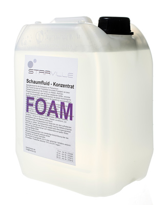 Stairville Foam/Snow Fluid Concent 5 ltr.