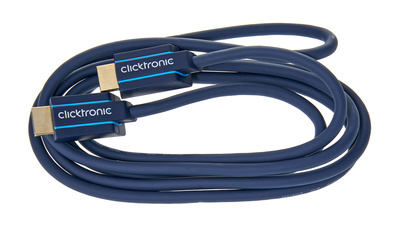 Clicktronic HDMI Casual Cable 2m