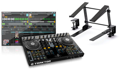 Native Instruments Traktor Kontrol S4 Stand Set
